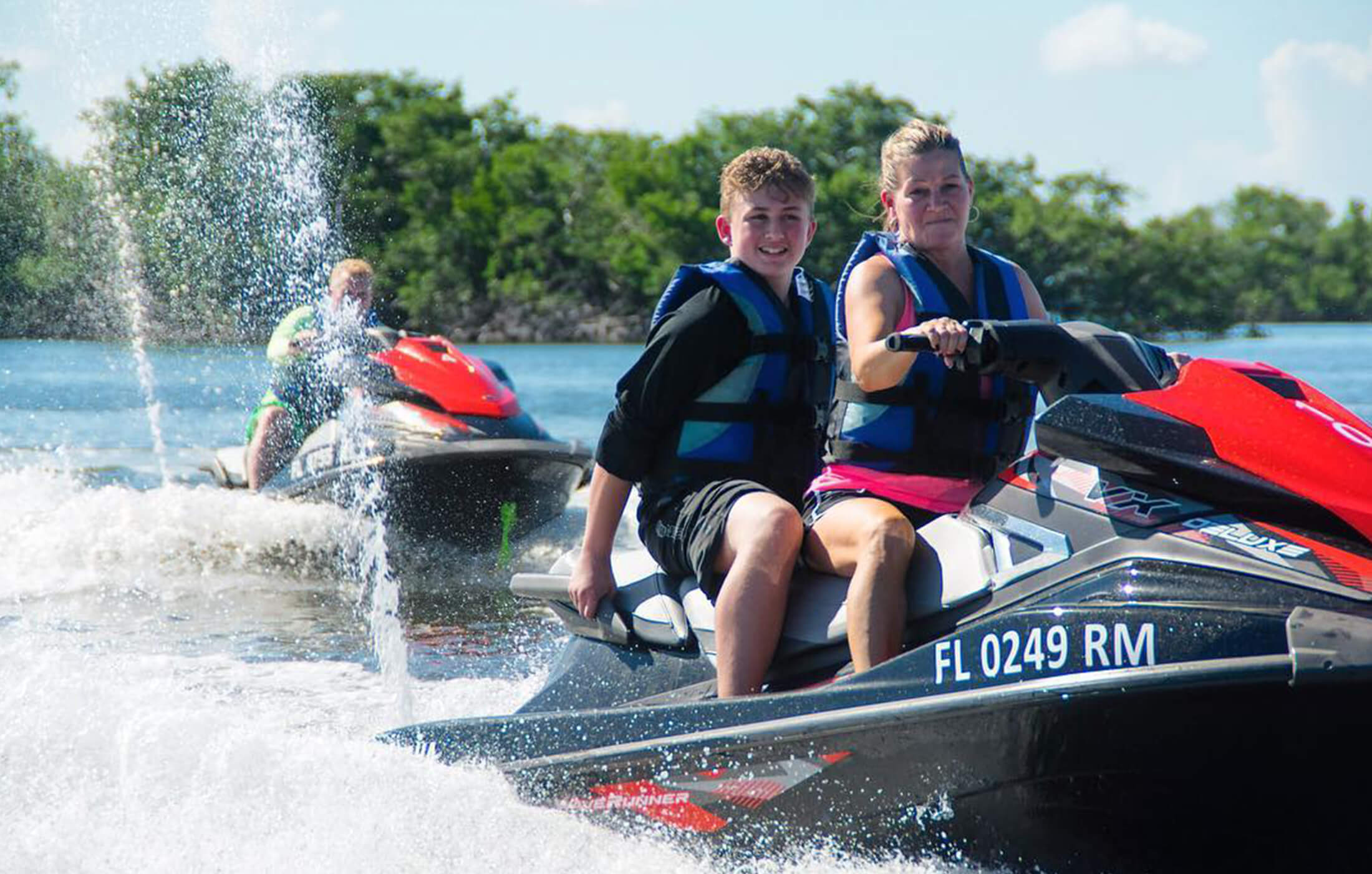 Guided WaveRunner Tour Estero Bay Preserve 3